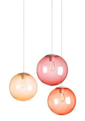 Suspension Spheremaker / Set 3 sphères - Fatboy orange clair