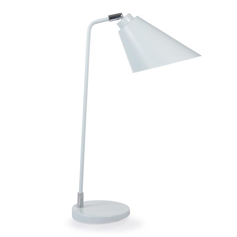 Lampe en métal bleue H 50 cm TALY