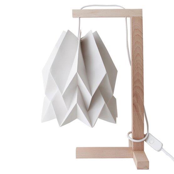 Lampe à poser gris clair - Orikomi