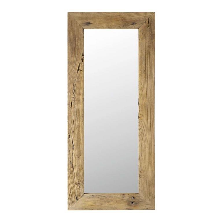 Miroir en sapin H160