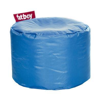 Pouf Point - Fatboy Ø 50 x H 35 cm bleu pétrole