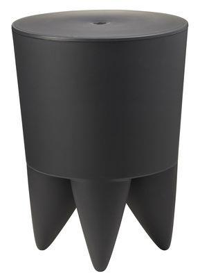 Tabouret New Bubu 1er / Coffre - Plastique - XO anthracite