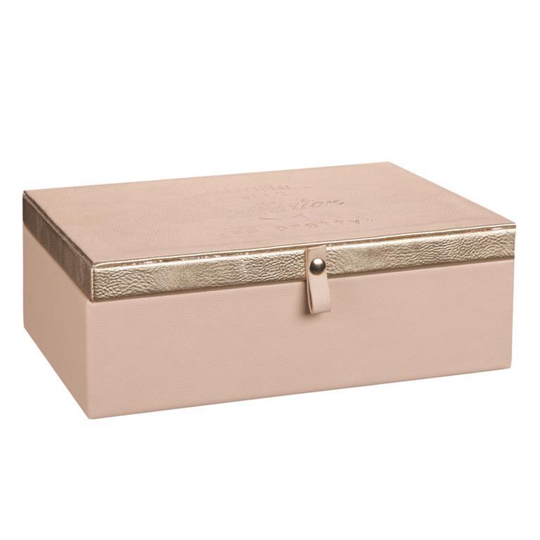 Boîte à Bijoux Rose Maisons Du Monde Ref 173429 Domozoom
