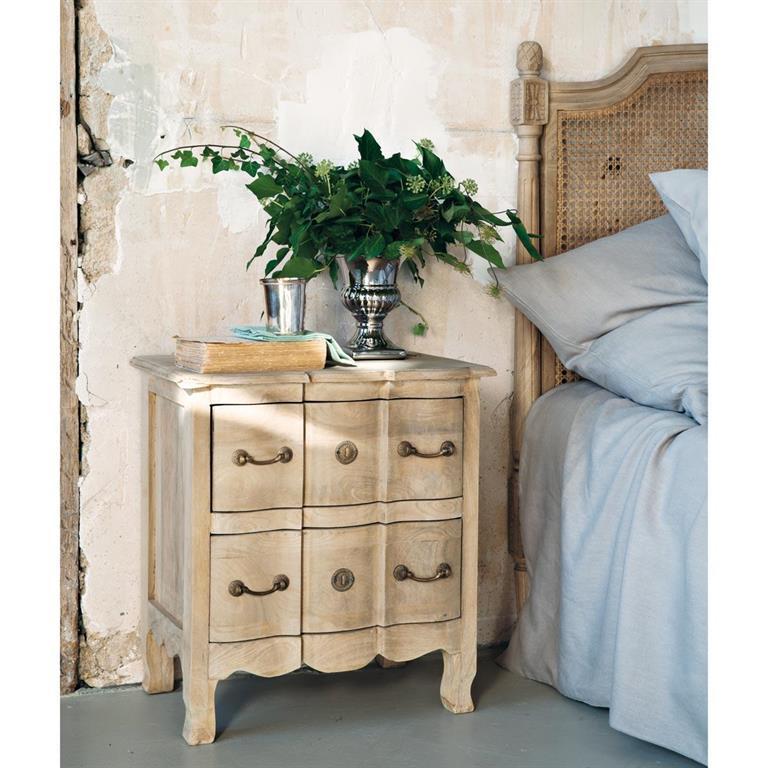 Table De Chevet Classique chambre à coucher - table de chevet - domozoom
