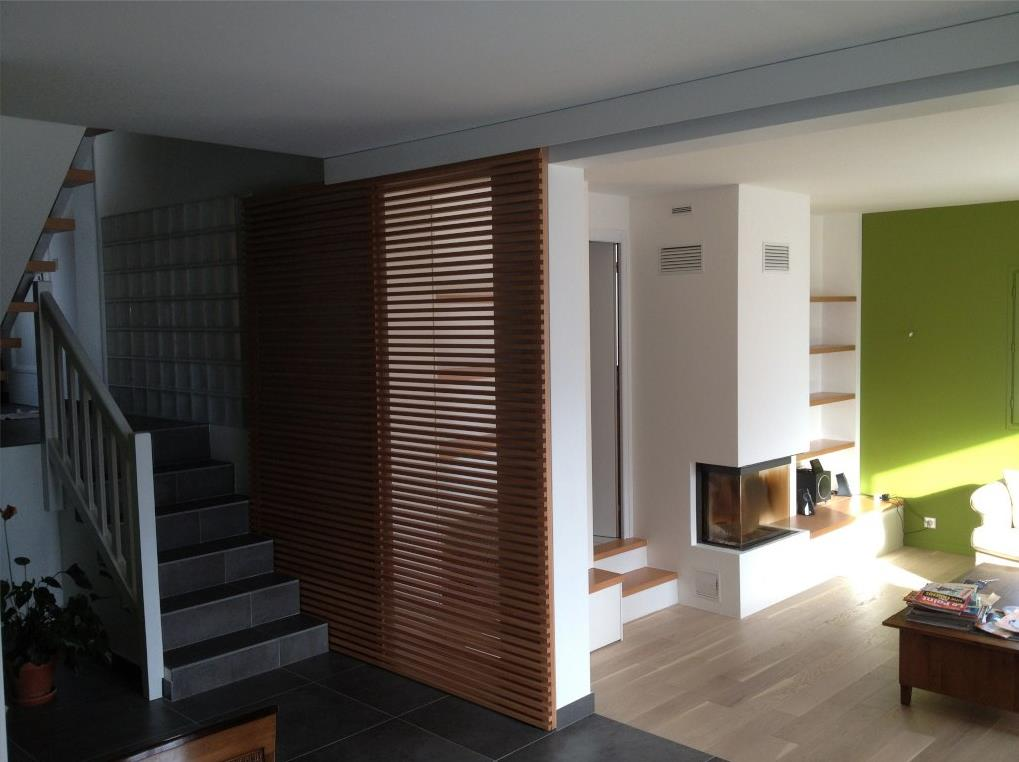 Am nagement int rieur d 39 une villa alain rouschmeyer - Amenagement salon contemporain ...