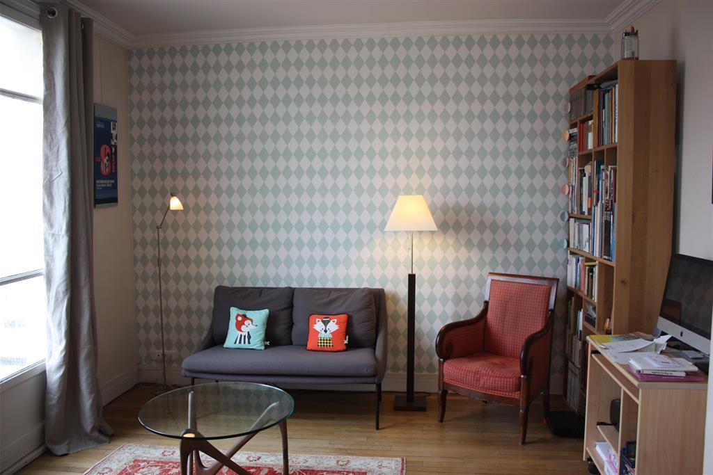 petit salon de ville d 39 inspiration scandinave lignes nuances. Black Bedroom Furniture Sets. Home Design Ideas