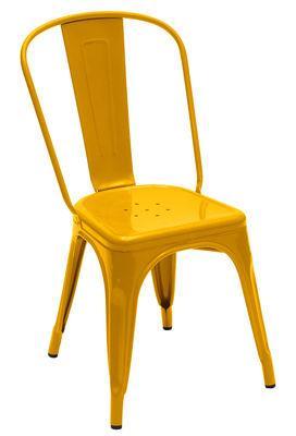 Chaise A empilable / Acier - Couleur brillante - Intérieur - Tolix