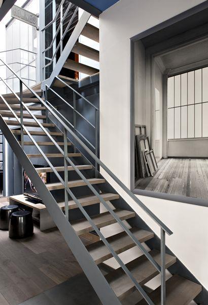 Escalier Industriel Loft. Loft Ides Ultra Modernes De Dco Et De Luxe ...