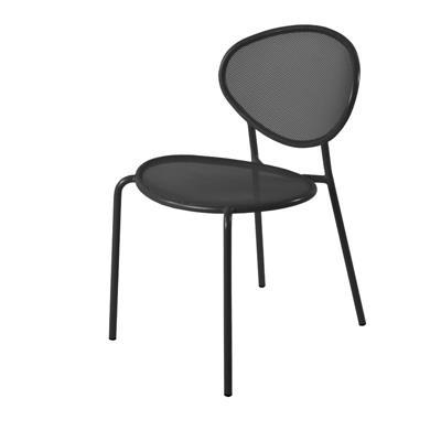 Lot de 2 Chaises de Jardin métal moderne Shadow