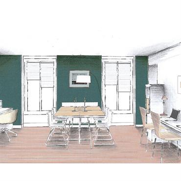 Une équipe jeune et dynamique, ayant emménagé dans de nouveaux locaux, souhaitait décorer ses bureaux et ses open-spaces dans un ... Domozoom