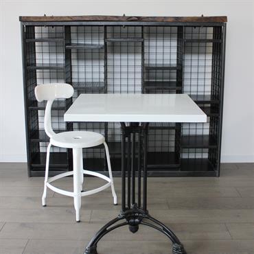 Table de bistrot émaillée gamme