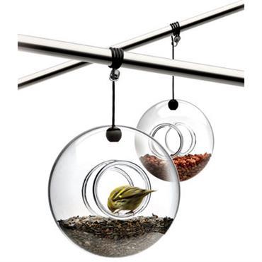 Mangeoire à oiseaux - Eva Solo transparent en verre
