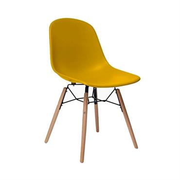 Faites l'acquisition de FANNY, notre nouvelle et élégante chaise design scandinave. Inspirée par les plus célèbres chaises design des années 50, la chaise FANNY adopte un look épuré et moderne.Son ...