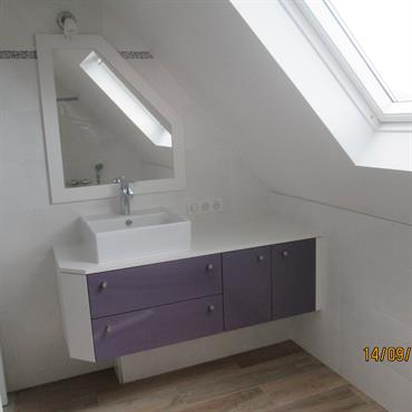 Différentes créations et rénovations de salle de bains  Domozoom
