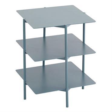 Table d´appoint Tier / Métal - 42 x 42 x H 54