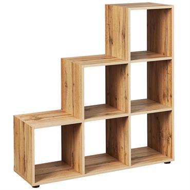 Etagère Escalier 6 Compartiments