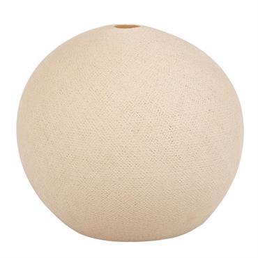 Suspension non électrifiée en coton blanc