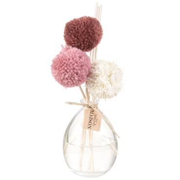 Diffuseur en verre parfum fleur de lin 100ml