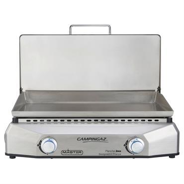 • Finition 100% inox brossé sur l'ensemble du chassis• Plaque de cuisson en inox qualité 304• Technologie Blue Flame : parfaite répartition de la chaleursur la surface de cuisson• Couvercle ...