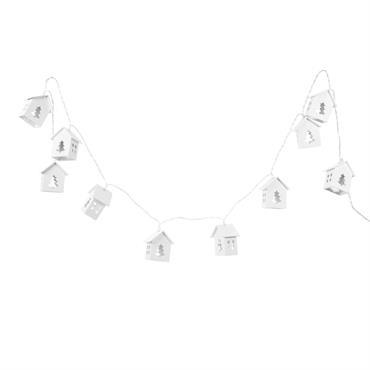Guirlande lumineuse maisonnettes L150