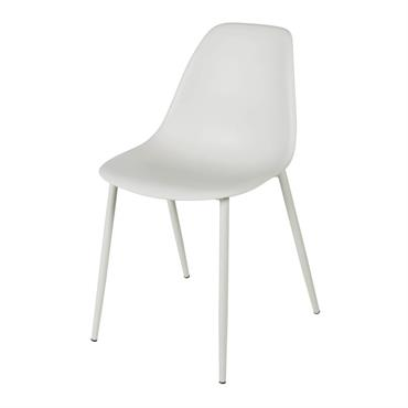 Chaise enfant style scandinave grise Clyde