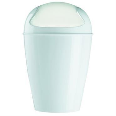 Poubelle Del XS H 24 cm - 2 Litres - Koziol blanc