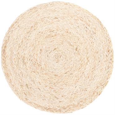 Set de table rond en fibre végétale