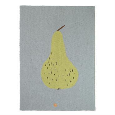 Plaid enfant Poire / 80 x 100 cm - Coton