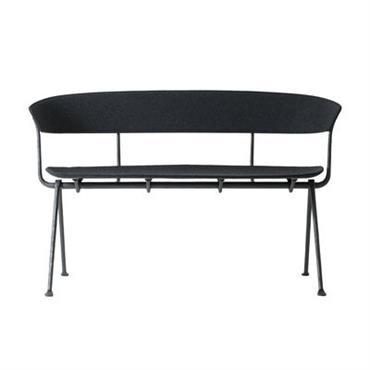 Banquette Officina / Tissu - L 125 cm - Magis noir