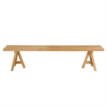 À mi-chemin entre le mobilier rustique et le design contemporain, le banc en teck recyclé TECKA ravive nos envies de simplicité. Convivial, chaleureux, éco-responsable? Pas de doute, ce banc en ...
