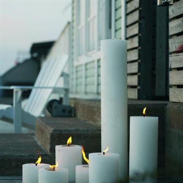 Grandes bougies d'intérieures et d'extérieures  Domozoom