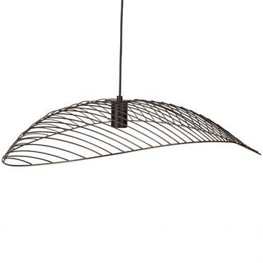 Suspension ombrelle en métal noir