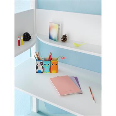 Bureau pour lit Plume - Constance Guisset Studio blanc