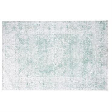 Tapis tissé vert 155x230
