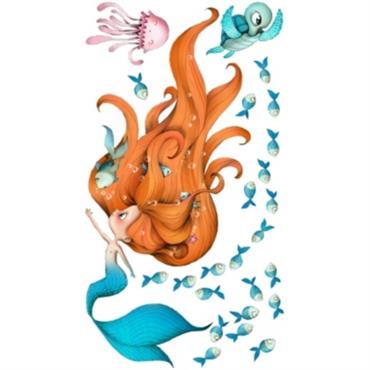 Sticker enfant - Sirène et compagnie