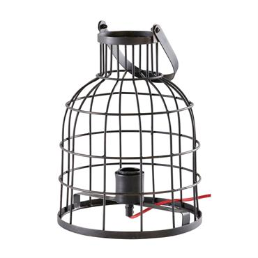 Avec la lampe en métal noir STRATFORD , difficile de résister à la tendance filaire ! Pensée pour les intérieurs à l'esprit factory, cette lampe indus habillera les buffets les ...