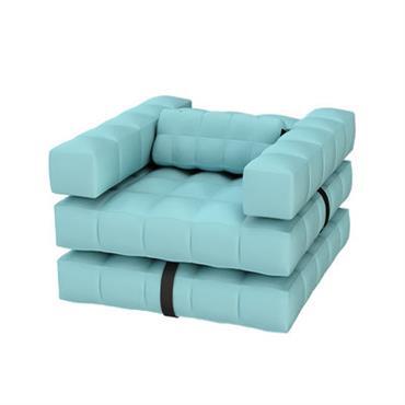 Chaise gonflable Modul´Air / Bain de soleil flottant - Convertible - Pigro