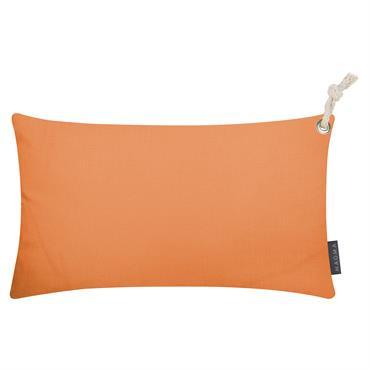 Housses de coussin outdoor avec corde orange - Lot de 2 - 50X30