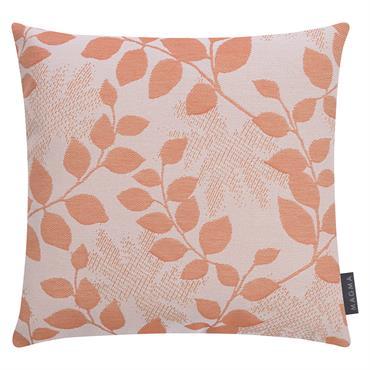 Housses de coussin outdoor motif floral orange Dralon-Lot de 2- 40x40
