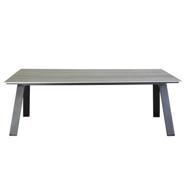 Table de jardin 6/8 personnes en composite L220 Bermudes