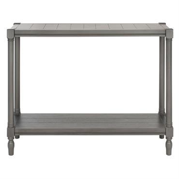 Console en bois de pin gris
