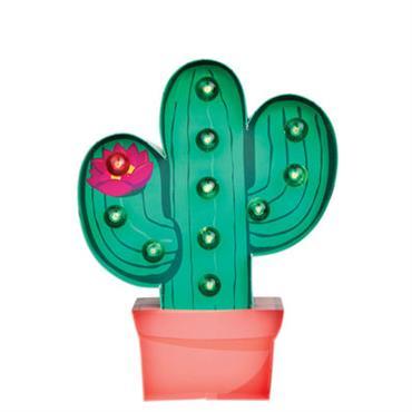 Veilleuse Cactus / Applique - Carton - H 30 cm - Sunnylife rose