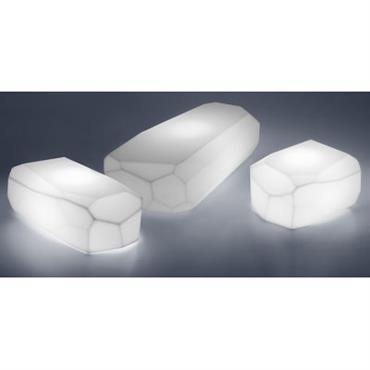 Table basse lumineuse Meteor Light Small / 57 x 50 cm