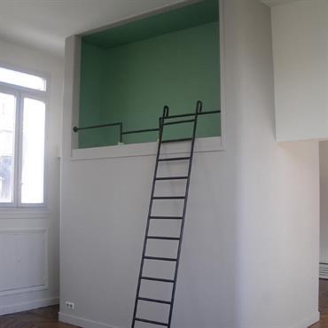 Loft d'artiste aménagé 75009  Domozoom