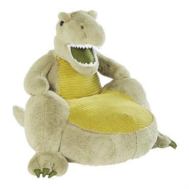 Fauteuil dinosaure vert