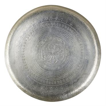 Déco murale motif mandala en métal D90