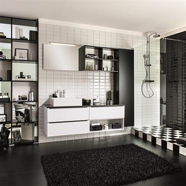 Découvrez les salles de bains sur-mesure par schmidt  Domozoom