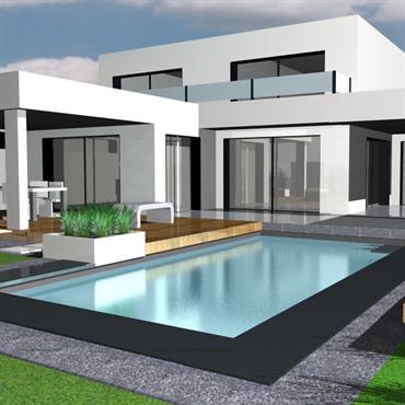 Visualisez vos projets en 3D, visitez et découvrez virtuellement votre jardin sous tous les angles (salle ciné Art Bor Concept) ... Domozoom