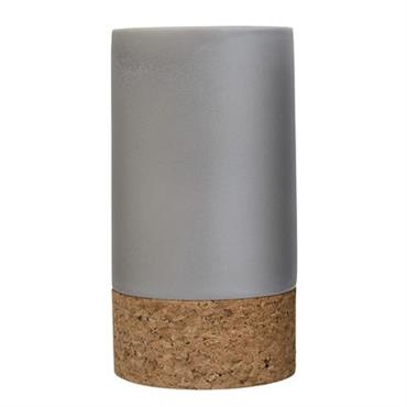Vase / Céramique et liège - Ø 13 x H 24 cm
