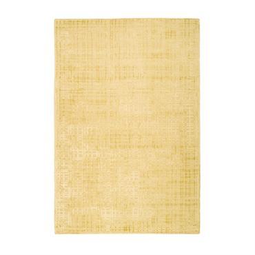 Tapis moderne fait main en Viscose Or 80x150 cm